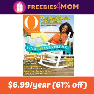 Magazine Deal: O, The Oprah Magazine $6.99