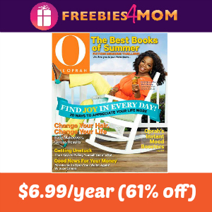 Magazine Deal: O, The Oprah Magazine $6.99