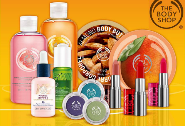 40% off The Body Shop with FREE Shipping *first 3,000*