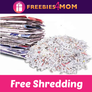 Free 5# of Shredding at Office Depot/Office Max