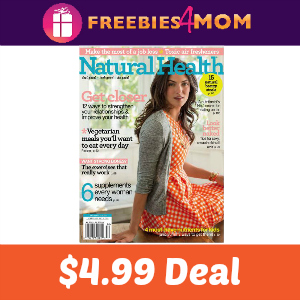Magazine Deal: Natural Health $4.99