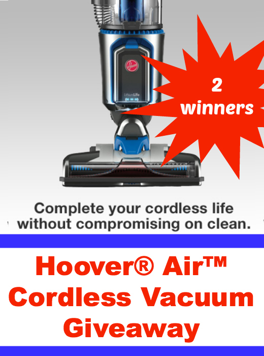 Hoover Air Cordless Vacuum Giveaway