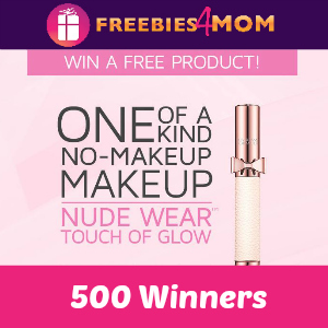 500 winners of Free Nude Wear Touch of Glow
