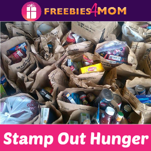 Stamp Out Hunger Food Drive May 14
