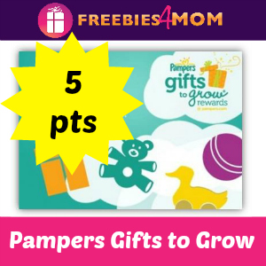 5 pt Pampers Gifts to Grow Code