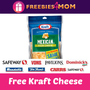 Free Kraft Natural Shredded Cheese