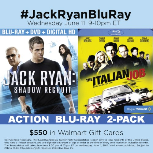 #JackRyanBluRay-Twitter-Party-6-11 #TwitterParty, #shop, sweepstakes on Twitter