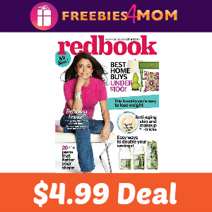 Magazine Deal Redbook $4.99