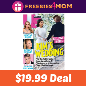 Magazine Deal Us Weekly $19.99