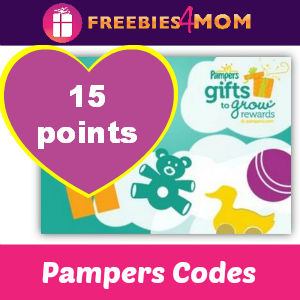 4th of July Pampers Codes (15 pts)