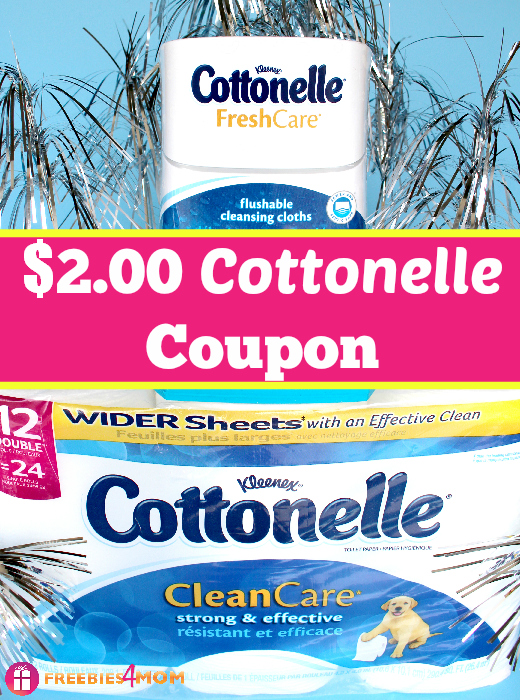 Cleaner Bathroom Routines with $2.00 Cottonelle Coupon