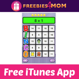 Free iTunes App: Math Monsters Bingo