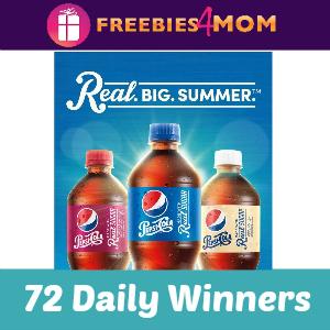 Sweeps Pepsi Real Big Summer