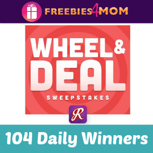 Sweeps Retail Me Not Wheel and Deal