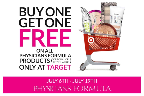 Physicians Formula Buy One, Get One FREE Sale at Target