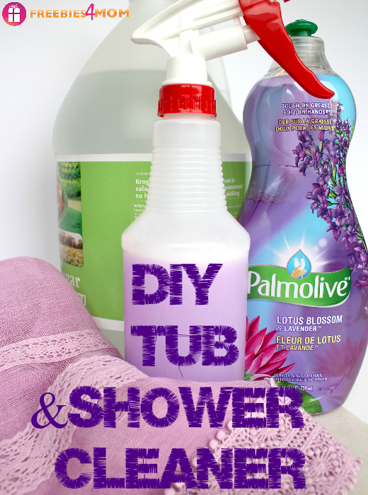 DIY Tub  Shower Cleaner  25 Ways To Use Palmolive