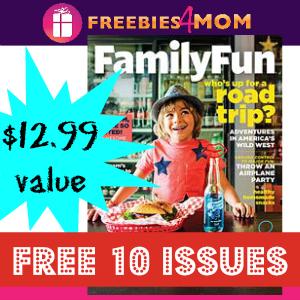 Free Family Fun Magazine ($12 value)