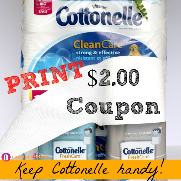 Printable Cottonelle® Toiilet Paper Coupon