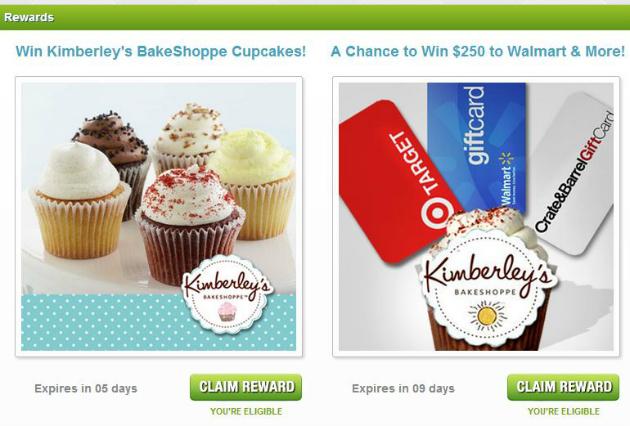 Kimbereley's Bakeshoppe Rewards at Splashscore