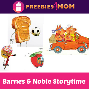 Free Storytime at Barnes & Noble Aug. 23 & 26