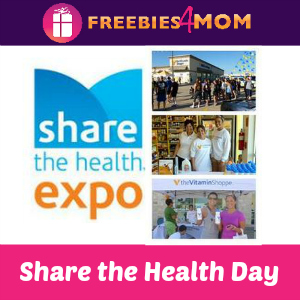 Share the Health Day at Vitamin Shoppe Aug. 16