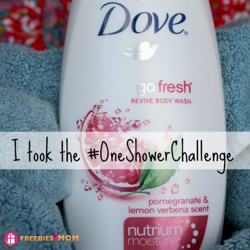 Dove #OneShowerChallenge