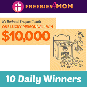 Sweeps Coupons.com National Coupon Month
