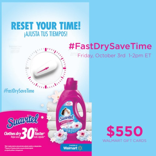 #FastDrySaveTime-Twitter-Party-10-3-1pmEST #TwitterParty,#shop,sweepstakes on Twitter