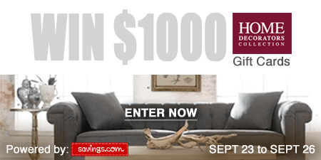 Home Decorators Collection Gift Card Giveaway