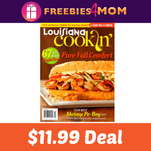 Magazine Deal: Louisiana Cookin' $11.99