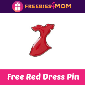 Free Red Dress Pin