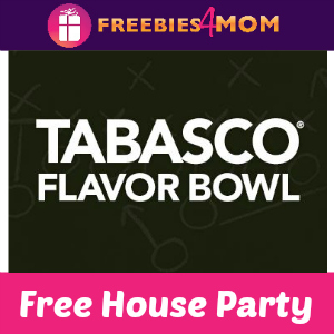 Free House Party: Tabasco Flavor Bowl