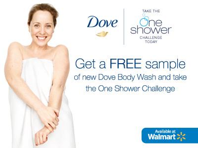Free Sample Dove Body Wash