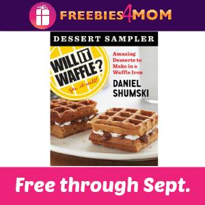 Free eCookbook: Will It Waffle? Dessert Sampler