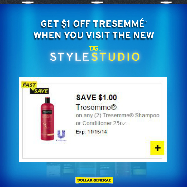 TRESemme Printable Coupon