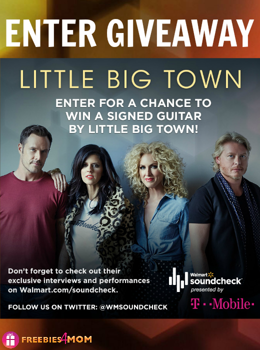 Little Big Town Autographed Guitar Giveaway