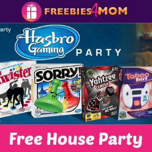 Free House Party: Hasbro Gaming (Ages 18+)
