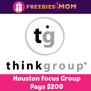 HOUSTON $200 Focus Group Oct. 11, 21, 22