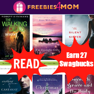 Discover New Books, Earn 27 Swagbucks