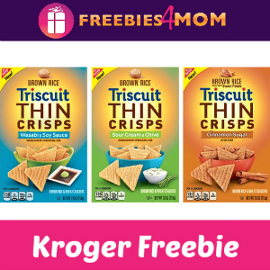 Free Triscuit Thin Crisps at Kroger