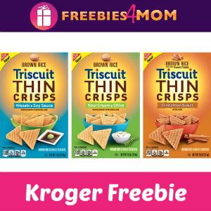 Free Triscuit Thin Crisps at Kroger