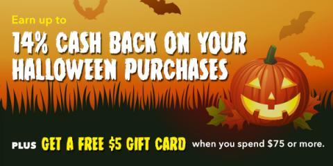 Earn Swagbucks When You Buy Your Halloween Costume!
