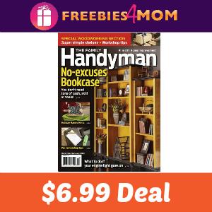 Magazine Deal: Family Handyman $6.99
