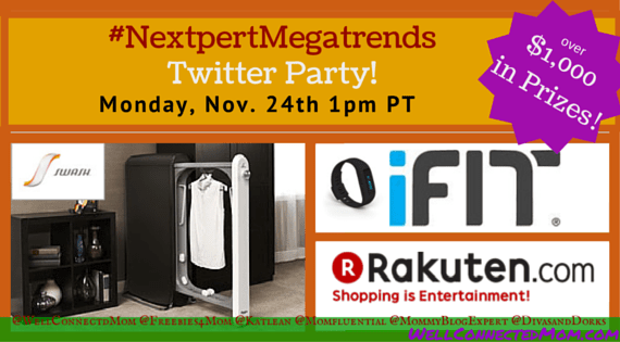 #NextpertMegatrends Twitter Party