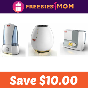 Save $10.00 on a Nuk Nursery Air Appliance