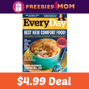 Magazine Deal: Every Day With Rachael Ray $4.99