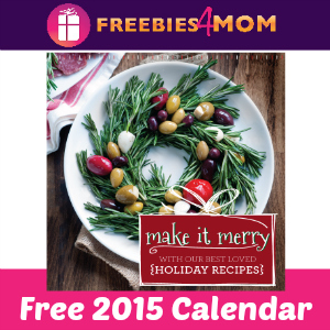 Free DeLallo 2015 Calendar with Coupons