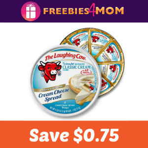 Coupon: Save $0.75 on The Laughing Cow Cheese