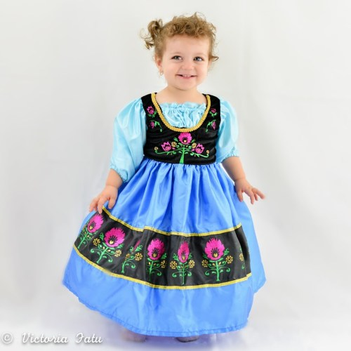 Frozen Anna Dress Up