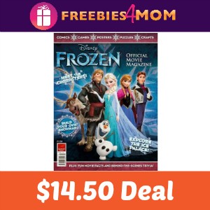 Magazine Deal: Disney's Frozen $14.50